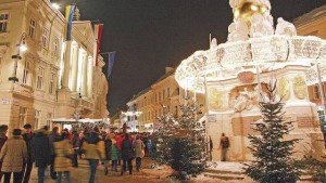 Adventmarkt in Baden @ Theaterplatz, Baden